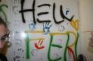 2012. 05. 09. Bontani való fal firkálása - 8. osztály