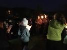 2017. 04. 12. Esti fáklyás-gyertyás családos keresztút 8. osztály