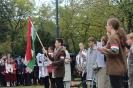 2018. 10. 19. Iskolai megemlékezés az 56-os forradalomról a 301-es parcellánál